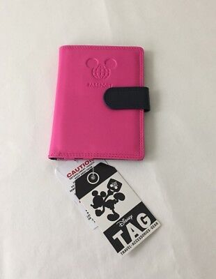 Disney Tag Pink Passport Wallet  - New With Tags!