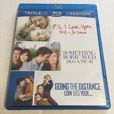 P.S. I Love You/Something Borrowed/Going the Distance (DVD, 2012, Canadian)