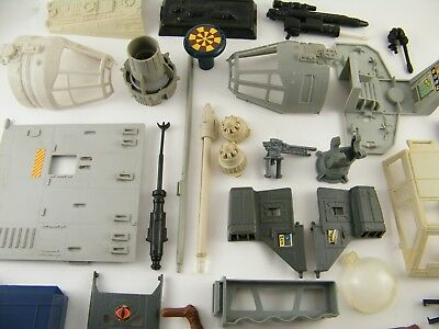 Star Wars Vintage & Modern Playset And Vehicle Spare Parts *see Photos*