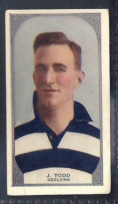 Hoadleys-Victorian Football Ers (51-100)-Aussie Rules-#060- Geelong - Todd