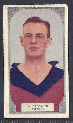 Hoadleys-Victorian Football Ers (51-100)-Aussie Rules-#071- Fitzroy - Fitcher