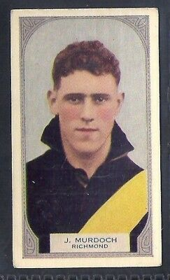 Hoadleys-Victorian Football Ers (51-100)-Aussie Rules-#086- Richmond - Murdoch