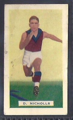 Hoadleys-Victorian Football Ers (Action)-Aussie Rules-#036- Fitzroy - Nicholls