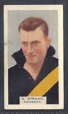 Hoadleys-Victorian Football Ers (Heads 1-50)-Aussie Rules-#016- Richmond Strang