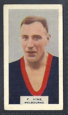 Hoadleys-Victorian Football Ers (Heads 1-50)-Aussie Rules-#025- Melbourne - Vine