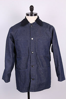 Raw Denim US Made Prison Yard Chore Jackets Qty Discount Available Size Sm-5XL