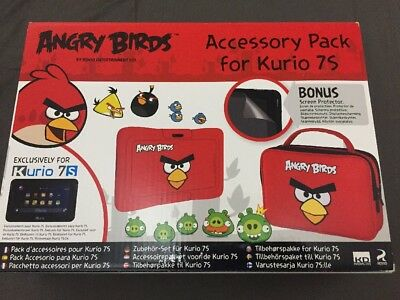 Angry Birds Accessory Pack For Kurio 7s, Brand New
