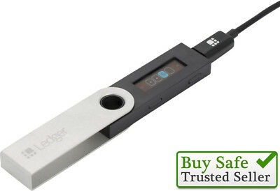 Ledger Nano S Crypto Currency Hardware Wallet Bitcoin - Genuine product
