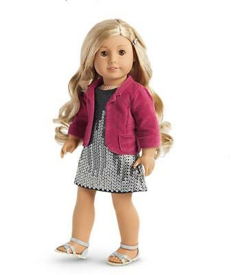 Tenney Sparkling Performance Outfit, New, Free Ship (no doll) American Girl