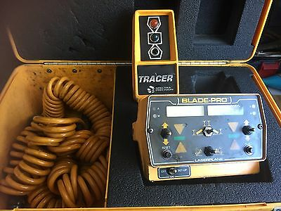 LaserPlane /Spectra Physics Bladepro Motorgrader Control System W/ Tracer ST2-20