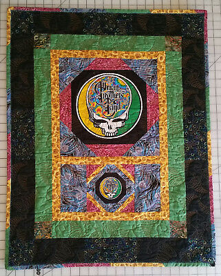 Grateful Dead/The Allman Brothers Band Stealie Custom Wall Hanging