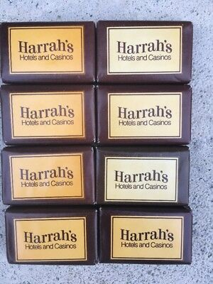 Vintage Hotel Soap Bar Of Soap Lot Of 8 Harrah's Hotels And Casinos