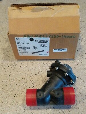 "**NEW IN BOX** GE Osmonics Aquamatic K521-X230-14000 1"" Normally Closed Valve"