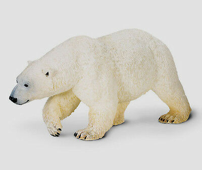 "POLAR BEAR~BIG STUNNING 10.75"" MODEL #111689~ FREE SHIP-USA w/ $25+ Safari, Ltd."