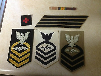 8 vintage patches MILITARY USAF AIR MOBILITY COMMAND + PACIFIC FORCES + MORE!!