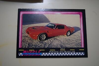 Muscle Cards Series 1 King Of The Hill #12 1973 Pontiac 455 Trans Am