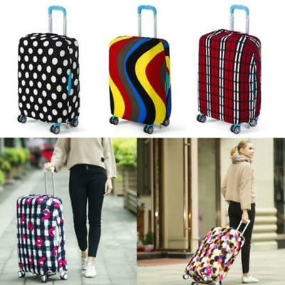 """Elastic Travel Luggage Suitcase Cover Dust-proof Protector Bag For 18""""~28"""" J"""