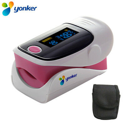 OLED Fingertip Finger Pulse Oximeter  SpO2 Blood Oxygen PR Heart Rate Oximeter