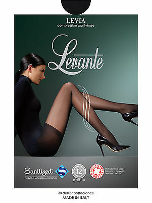 47fac44f38507 Levante Levia Compression Medical Pantyhose 30 Denier. 80% Polyamide 20  Elastane