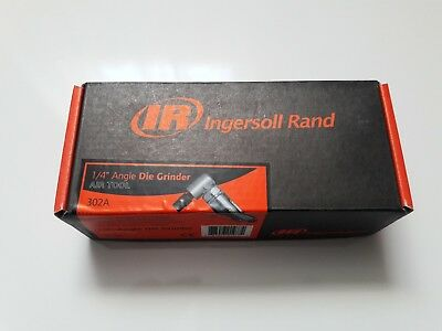 Ingersoll Rand 302A Heavy Duty 1/4-Inch Angle Die Grinder-Brand New