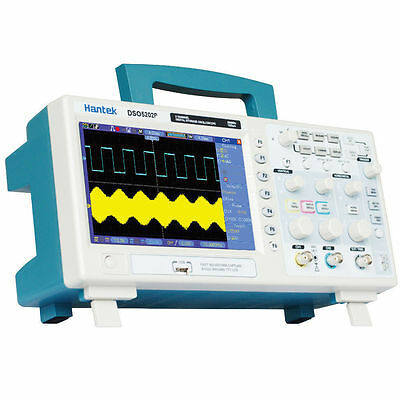 DSO5202P 2Channels 7'' TFT LCD 800x480 USB Digital Oscilloscope 1GS/s 200MHz USA