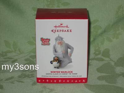 Hallmark ~ Winter Warlock ~ 2016 ~ Santa Claus is Comin' to Town ~ free shipping