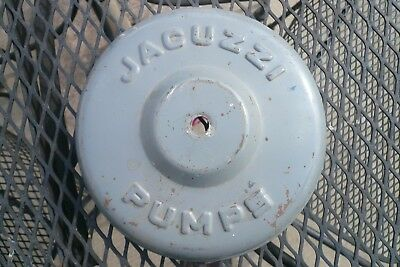 Vintage Jacuzzi Bros. motor canopy, for vertical jet pumps from 1950's - 60's