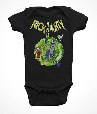 Rick and Morty Baby Bodysuit, Batman Rick and Morty Infant Bodysuit