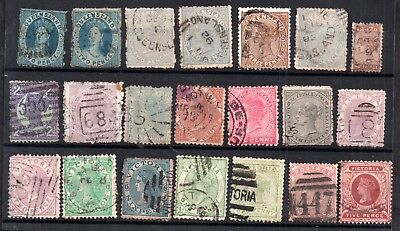 Australia QV States used collection (21V) WS7211