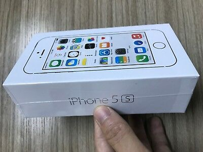 iPhone 5S 16/32/64GB  Silver Gold Space Grey Unlocked Smart Phone NEW Sealed Box