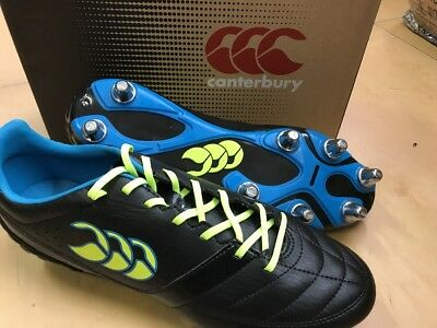 canterbury Phoenix Club Rugby Boots Size 9 New