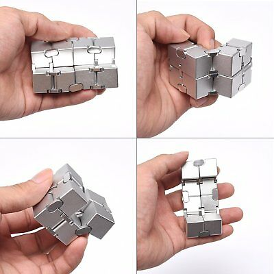 JOEYANK New Version Fidget Finger Toy - Infinity Cube,Fidget cube for Stress and