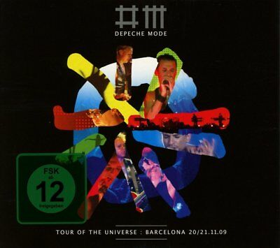 Depeche Mode - Tour of the Universe: Barcelona 20/21.11.09 (2010)  DVD+2CD  NEW