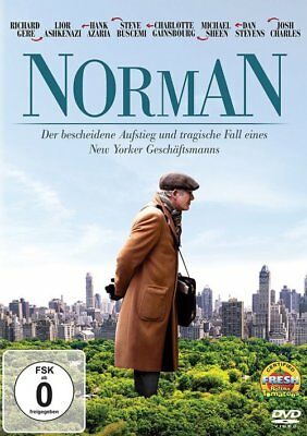 Norman - Richard Gere - Michael Sheen - DVD