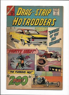 "Drag-Strip Hotrodders #10 [1966 Gd+] ""beware Of The Big Shooter!"""