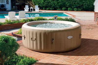 Piscina Idromassaggio Gonfiabile Intex Esterno SPA ø 196 cm 28404 Bubble Massage