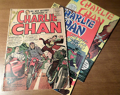 Charlie Chan: 3 Top Comic Books!  Including 1 & 2