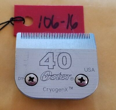 Oster CryogenX A5 Blade Size 40 fits Oster, Andis, Wahl  A5 style clippers