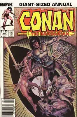 Conan the Barbarian (1970 series) Annual #10 in Very Fine + condition