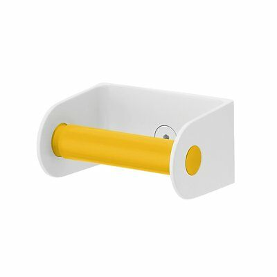 Sabi Roll Toilet Paper Dispenser & Spring-Loaded Roller Yellow S327303Y FREE 1ST
