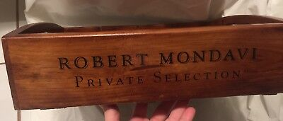 Robert Mondavi Private Selection Wood Display Box ,tray