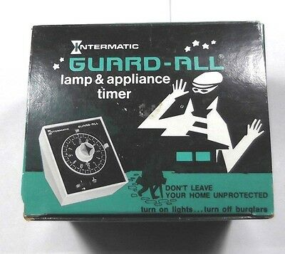 Vintage Intermatic E-911-16 Guard-All Lamp & Appliance Timer