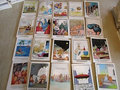 "(5) ""THE FAR SIDE"" Comics Lot of (5) Vintage Birthday Cards. MINT with Envelopes"