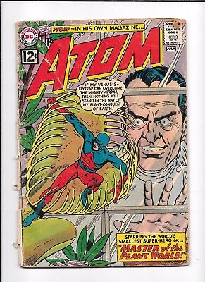 The Atom #1 ==> Fa 1St Appearance In His Own Series Dc Comics 1962