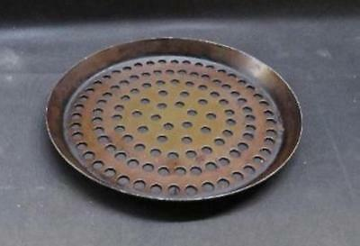 """9"""" Commercial Perforated Pizza Pan aluminum dish tray serving baking oven screen"""