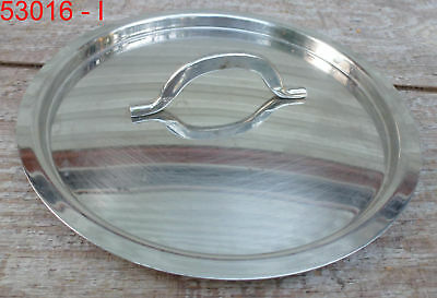 """8"""" Stainless Steel Pot Cover Lid pan stock soup inset skillet saucepan"""