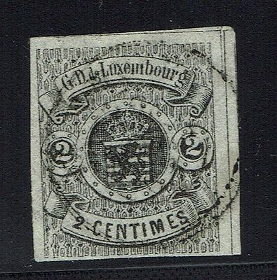 Luxembourg Scotts# 5 - Used (Small Center Tear) - Lot 011816
