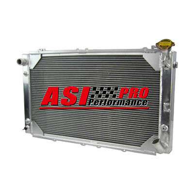 3ROW Aluminum Radiator For 88-97 Nissan GQ Patrol Y60 4.2L Petrol TB42S&TB42E AT