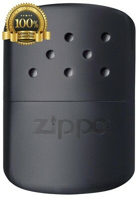 New Zippo Hand Warmer 12 Hour Matte Black Pocket Flameless Odorless Top Quality