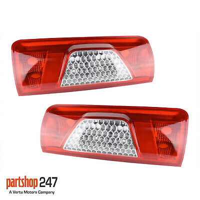 Ford Transit Connect 2009-2013 Rear Tail Light Lamps Left N/s & Right O/s Pair